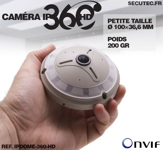 caméra ipdome-360-hd