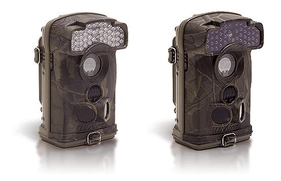 Caméras longue autonomie avec infrarouge classique (ref.: XTC-HD-1080) sur la gauche et invisible sur la droite (ref.: XTC-HD-1080-I).