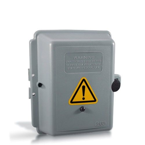 Une caméra cachée dans une boîte électrique