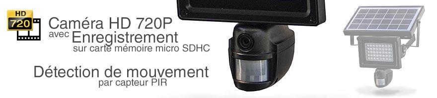 camera detecteur