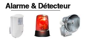 Détecteurs et alarmes