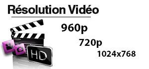Résolution vidéo