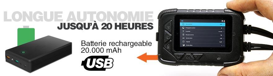 batterie longue autonomie