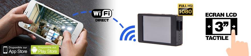 connexion wifi ecran