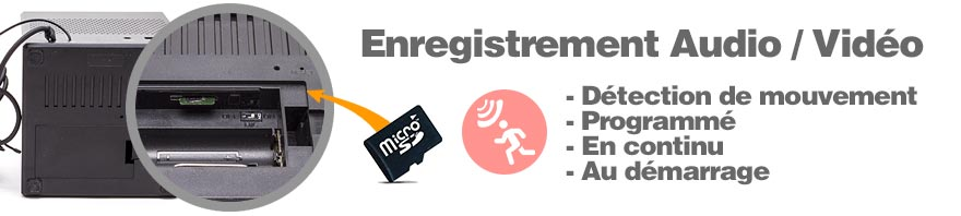 enregistrement audio video