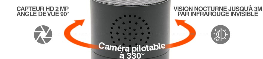 camera espion wifi pilotable
