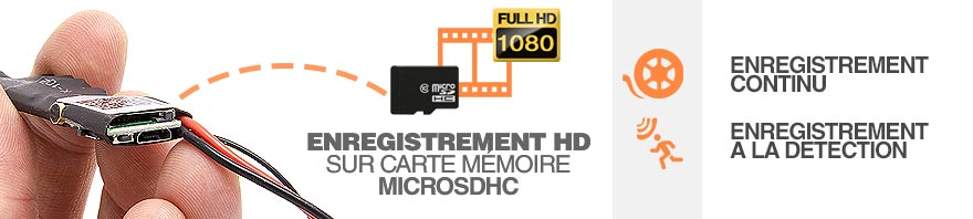 enregistrement hd 1080p